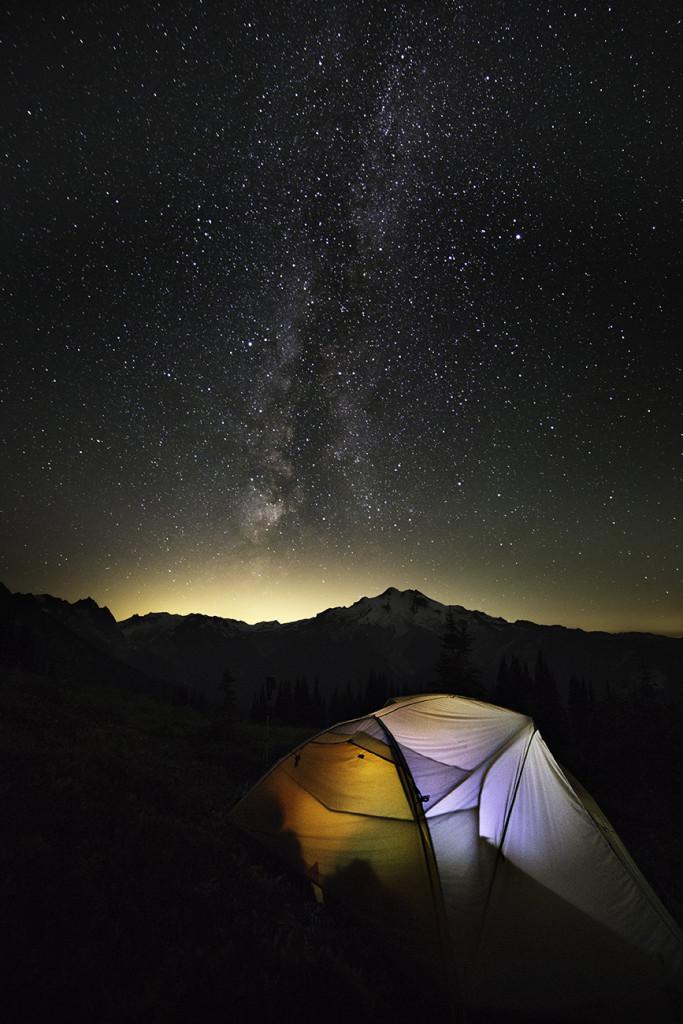 Glacier Peak Stars