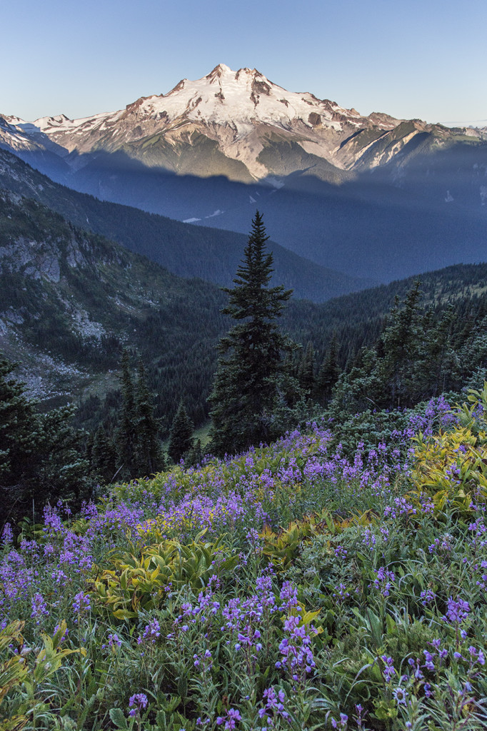 Glacier Peak Morning Hike