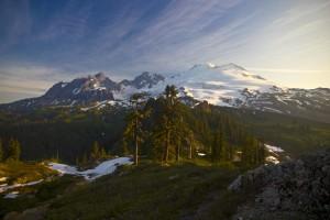 Mount Baker Morning Light