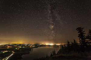 Skagit Valley and the Milky Way