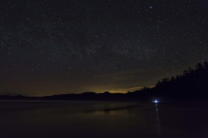 Stars over Shi Shi Beach