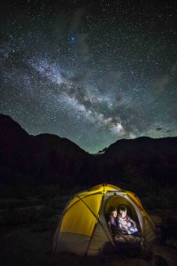 Camped under the Milky Way 2