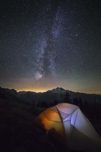 Glacier Peak Milky Way