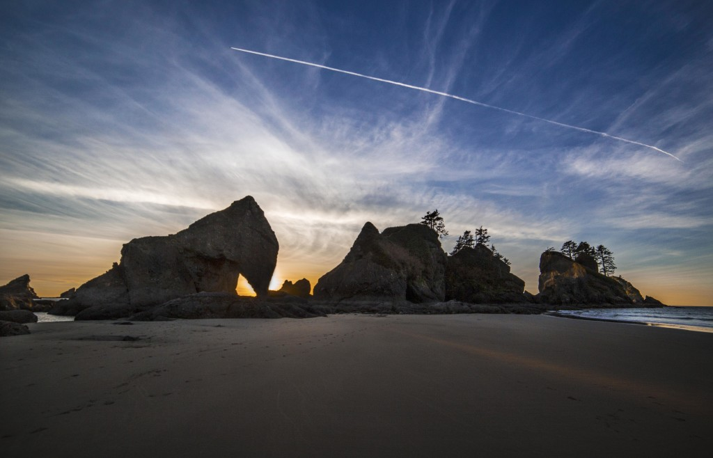 Point of the Arches:Sky and Sand