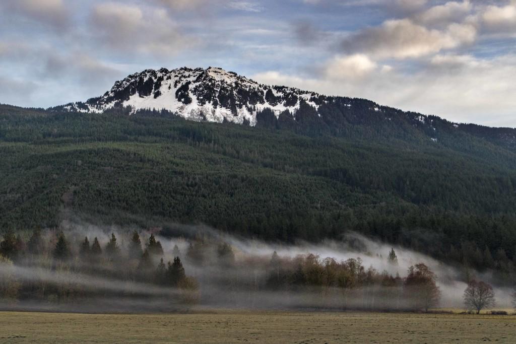 Sauk Mountain from Highway 20
