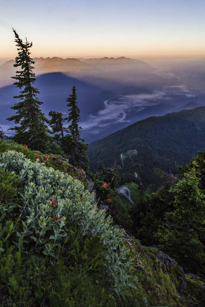 Skagit Valley from Sauk Mountain