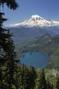 Mt Rainier and Packwood Lake