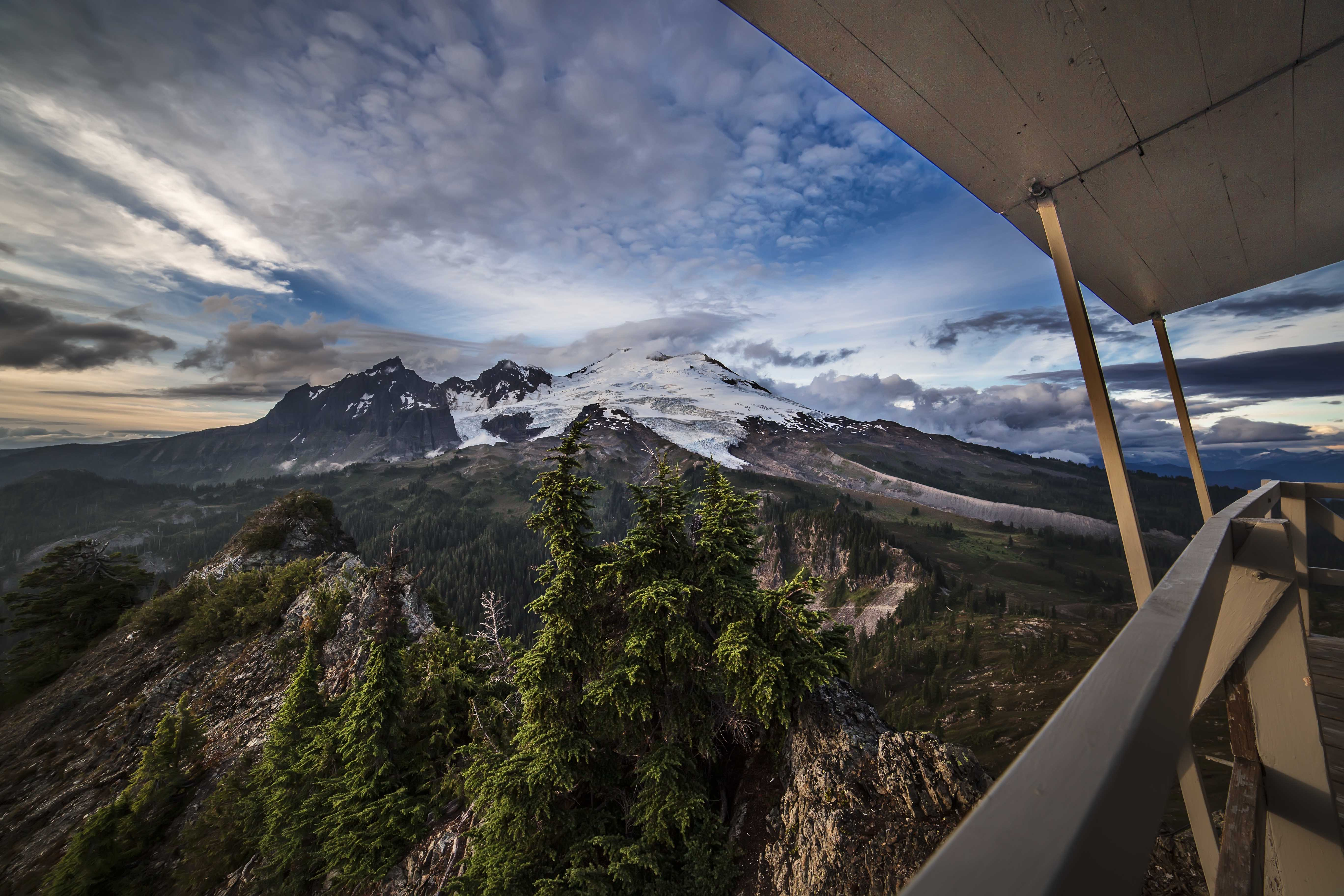 Mount Baker And The Park Butte Lookout