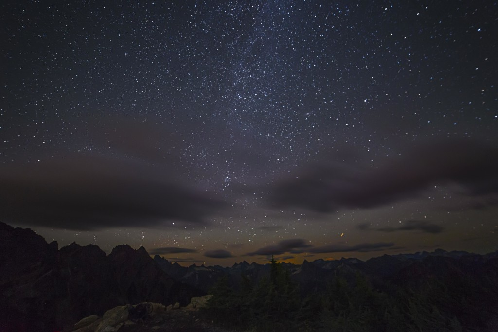Starry Sky from Winchester Mountain