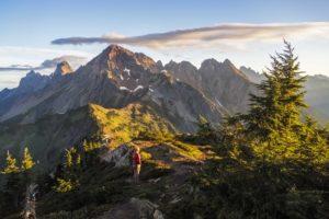 Mt Larabee in the morning light